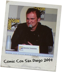 Comic Con San Diego Quentin Tarantino