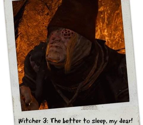 crone witcher 3 verslaat Benno Larue