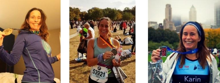 Meisjes van vijftig rennen 3 majors in 11 maanden