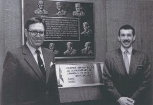 Konrad Meister (founder) and Andy Miller (VP) circa 1988.