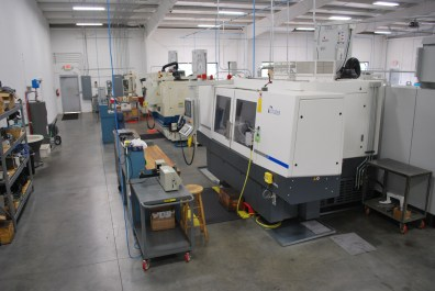New Studer S41 System with high speed grinding capabilities complements the other six grinding systems in the CGS plant