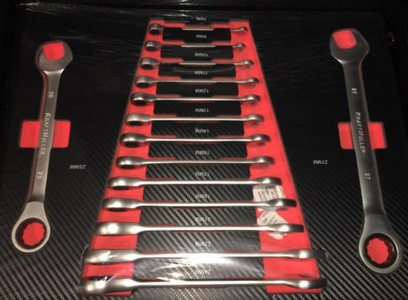 Werkzeugwagen Werkstattwagen Racing Kraft Müller mit Werkzeug 7 Schubladen Voll 10