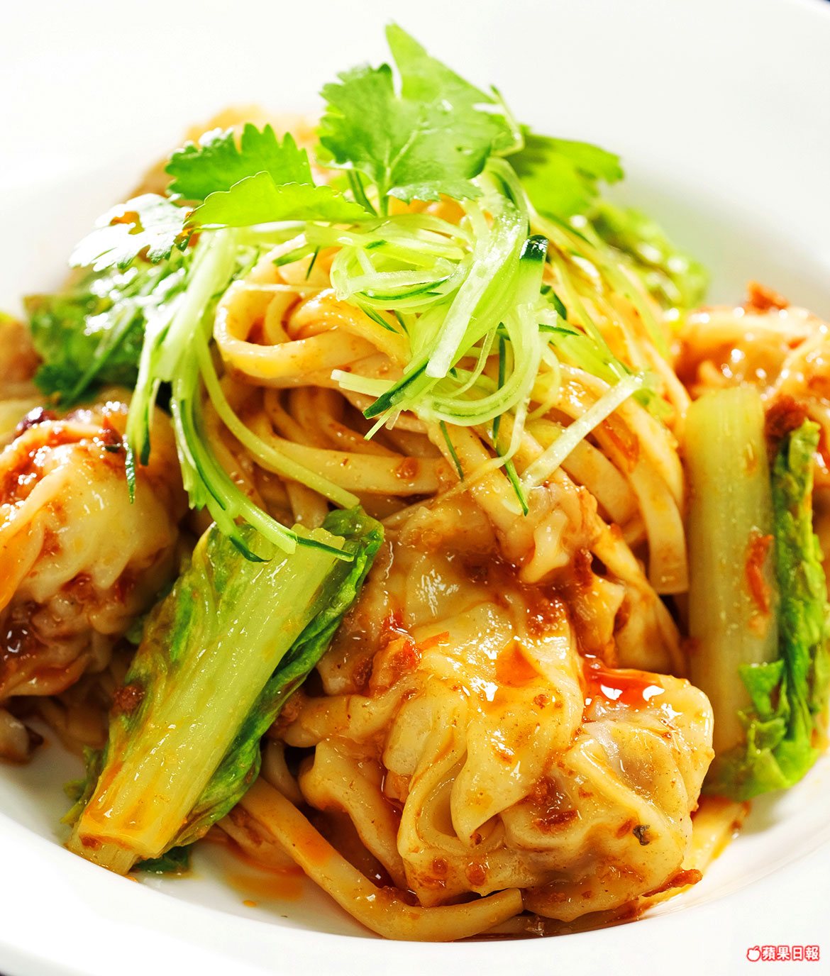 【紅油抄手陽春麵】 – meiweixhiyuan 美味之緣