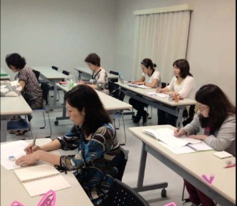 普天間の第一期韓国語講座終了