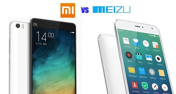 Meizu ή Xiaomi - Τι είναι καλύτερο;