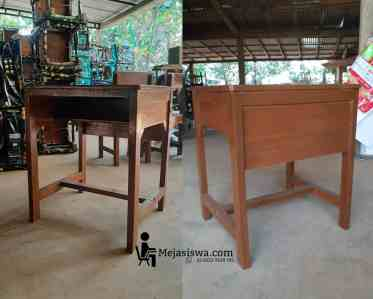 gambar model meja siswa tunggal