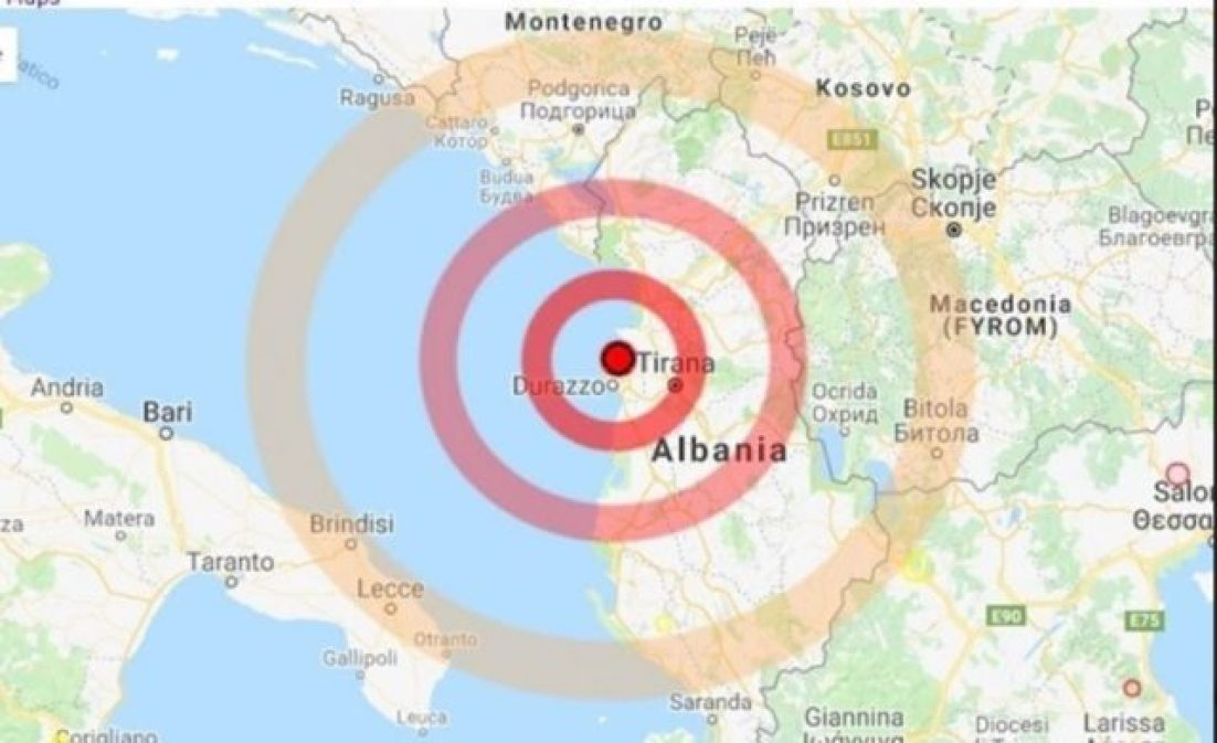 Tërmeti në Durrës