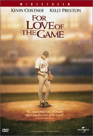 For Love of the Game poster