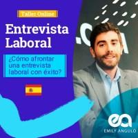 SEGUNDA EDICIÓN - TALLER ENTREVISTA LABORAL - 05/07/2020