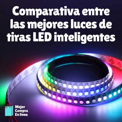 Comparativa mejores tiras luces led inteligentes