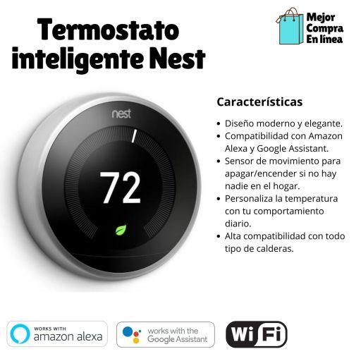 Resumen comparativo de Termostato inteligente Nest