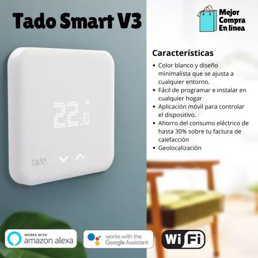 Resumen comparativo de Tado Smart V3 +