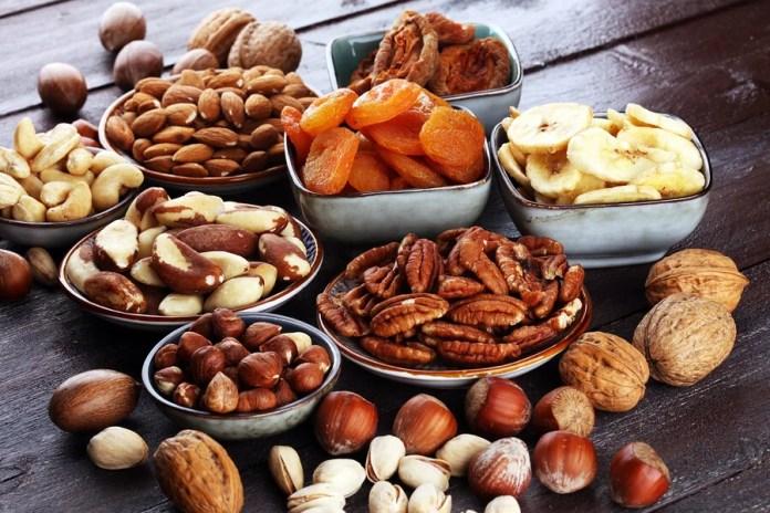Los frutos secos más saludables para el corazón.