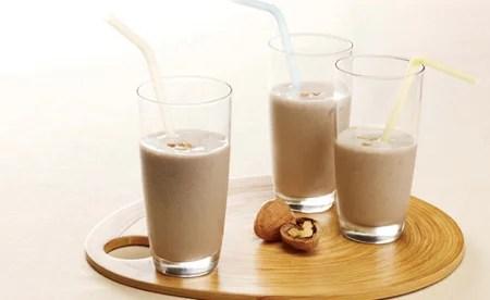 leche nueces