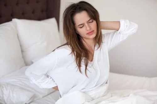 Mujer dormir mal