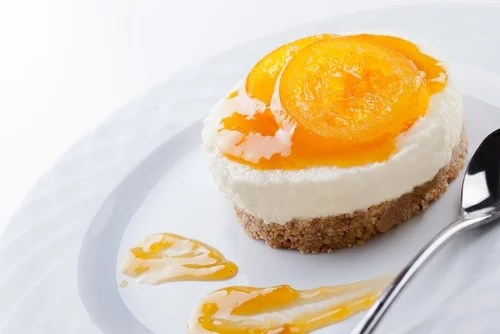 cheesecake melocoton