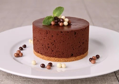 Receta casera de mousse de chocolate.