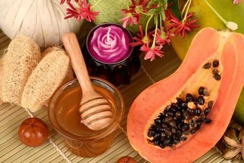 papaya para el cuidado de la piel