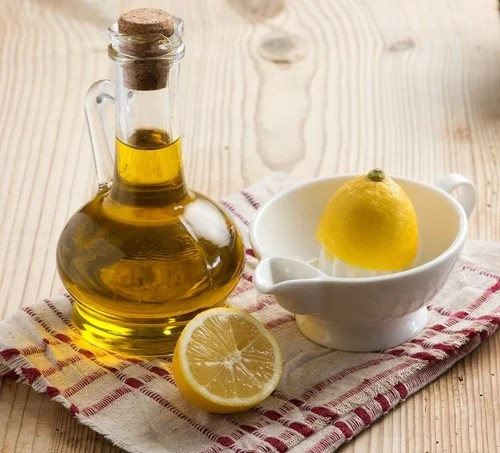 aceite de oliva y limón para el dolor de las articulaciones