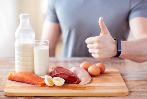 Aumentar el consumo de proteínas