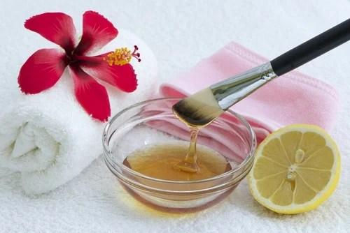 Tratamento de pele de limão