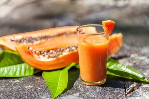 Cómo preparar este batido de papaya y avena