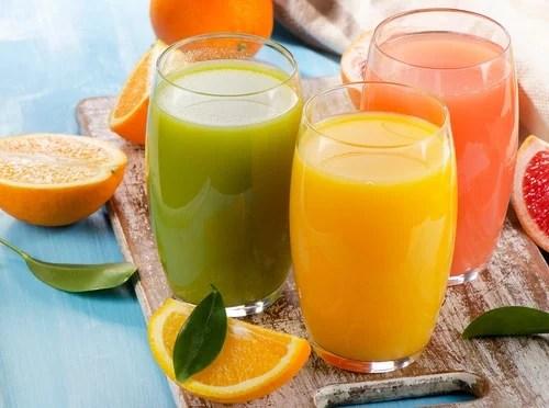 cítricos en el desayuno