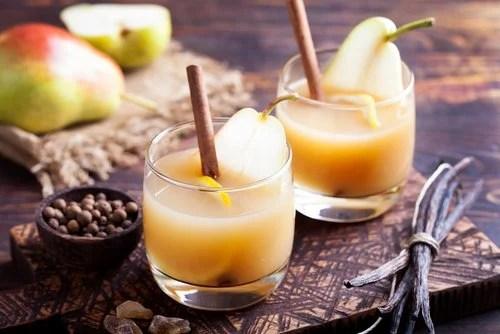 Jugo, una rica forma de consumir peras
