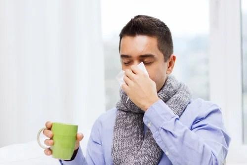 aliviar la gripe