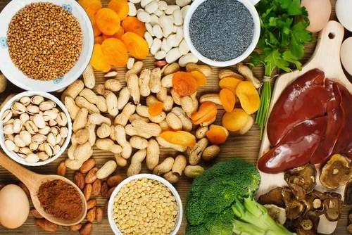 Resultado de imagen para alimentos con hierro