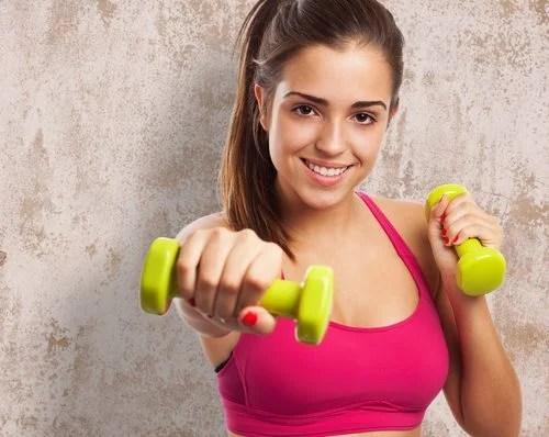Ejercicios con pesas para principiantes