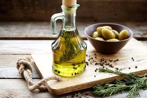 Utilizar aceite de oliva