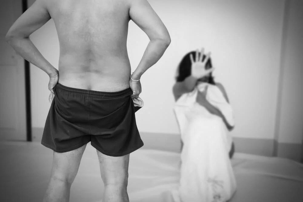 Abuso sexual en pareja.