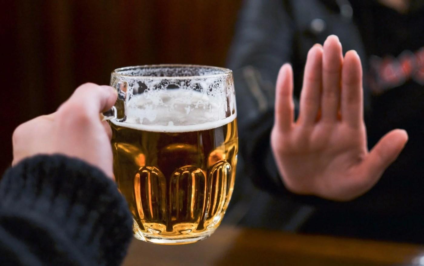 La absorción del alcohol
