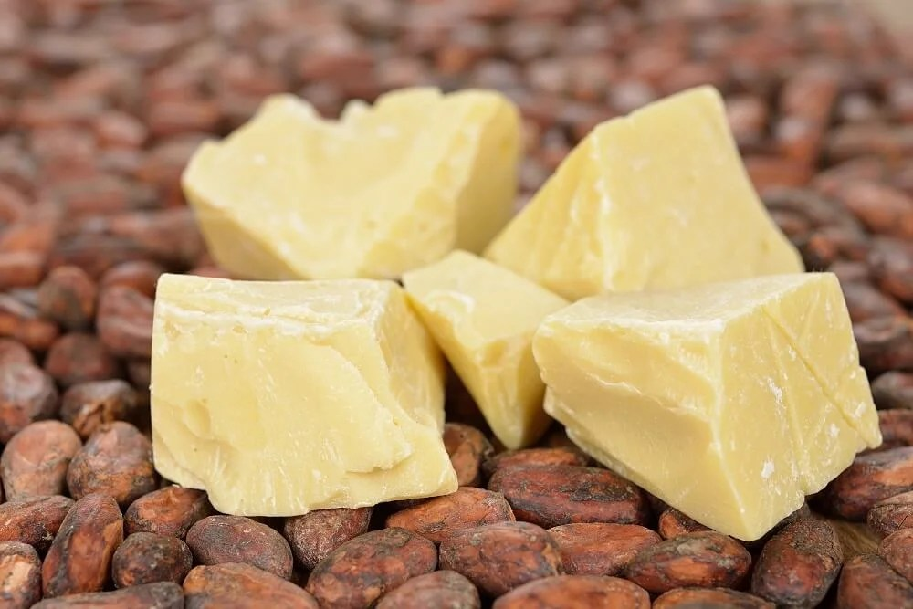 Natural cocoa butter