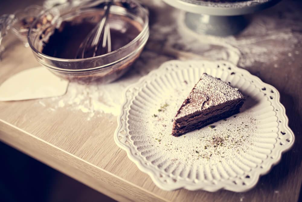 Mousse de chocolate con pocas calorías