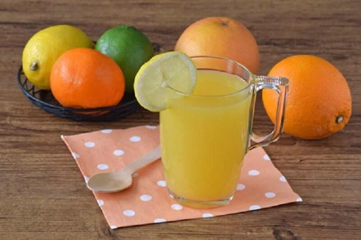 عصير الحمضيات