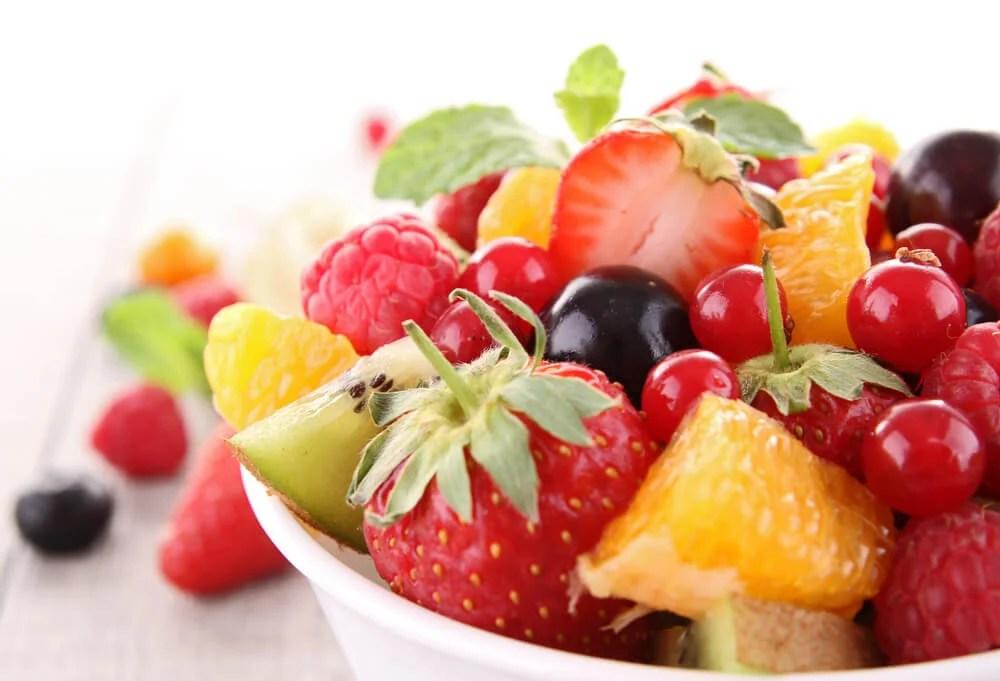 Deliciosos postres de frutas