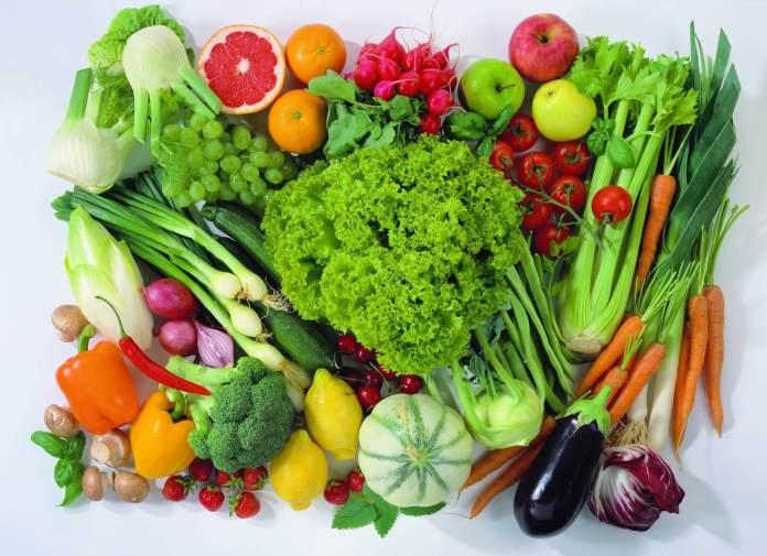 Variedad de frutas y verduras. Tips para cuidar tu salud