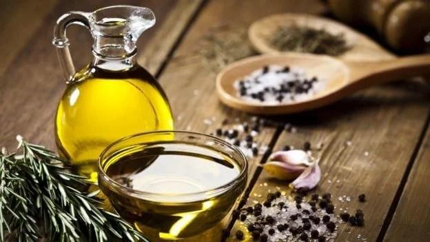 Aceite de oliva para no roncar.
