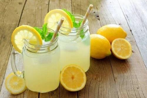 Infusión de limón para las alergias
