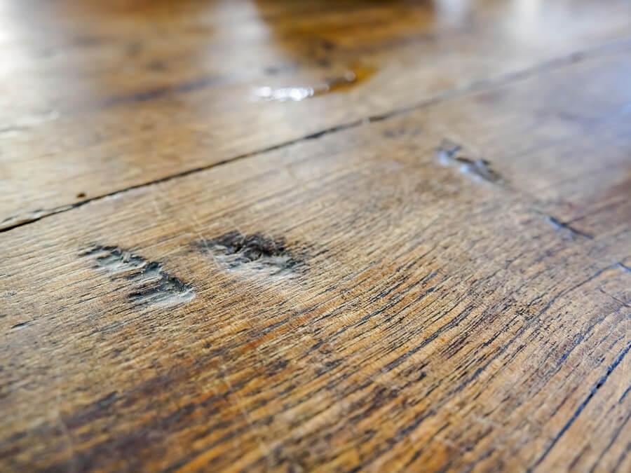 Mancha en madera