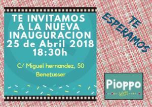 Inauguración Pioppo Kids @ Pioppo Kids