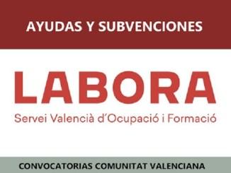LABORA. subvenciones y ayudas