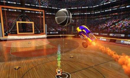 El modo basket llegará a Rocket League en Abril