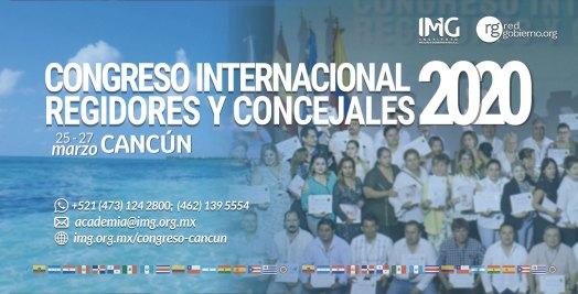 Congreso Internacional Regidores Concejales 2020 Cancun Instituto Mejores Gobernantes Red Gobierno