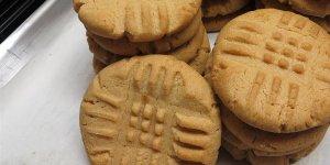 Receta clásica de galletas de mantequilla de maní