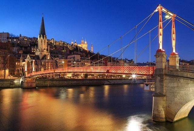 Mejores zonas donde alojarse en Lyon Francia - Vieux Lyon