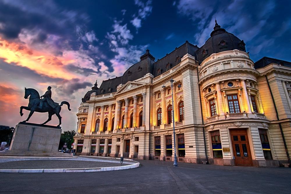 Mejores zonas donde alojarse en Bucarest - Casco Antiguo