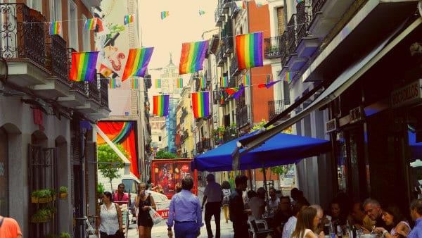 Staying in Chueca, the gay neighbourhood of Madrid